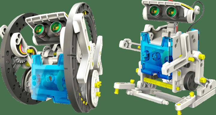 Solcelledreven robot fra Teknikmagasinet